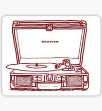 Crosley Record Players Sticker