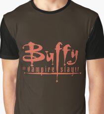 Buffy The Vampire Slayer Logo Graphic T-Shirt