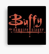 Buffy The Vampire Slayer Logo Canvas Print