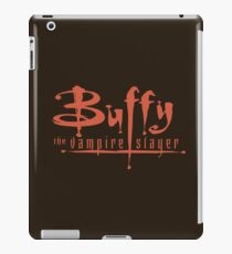 Buffy The Vampire Slayer Logo iPad Case/Skin