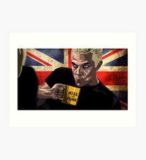 Spike - Buffy The Vampire Slayer Art Print
