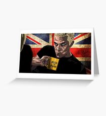 Spike - Buffy The Vampire Slayer Greeting Card