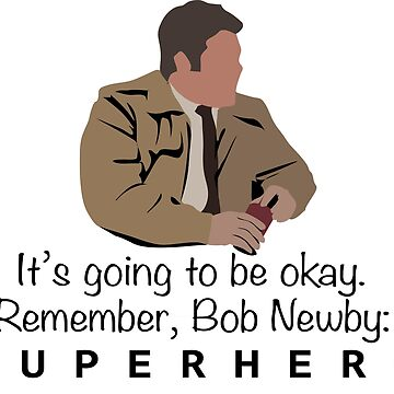 Stranger Things - Bob Newby - Superhero by martianart