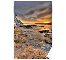Sunrise Portrait - Balmoral Beach - The HDR Series Poster
