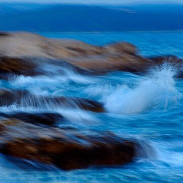 Sea Waves Abstract Seascape by borisow
