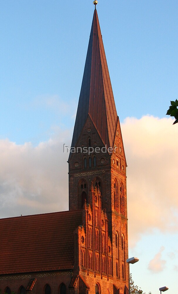 Bell tower of St. Albans by hans p olsen