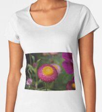 bright straw flower Women's Premium T-Shirt