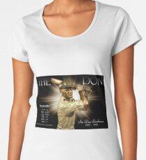 Sir Don Bradman Women's Premium T-Shirt