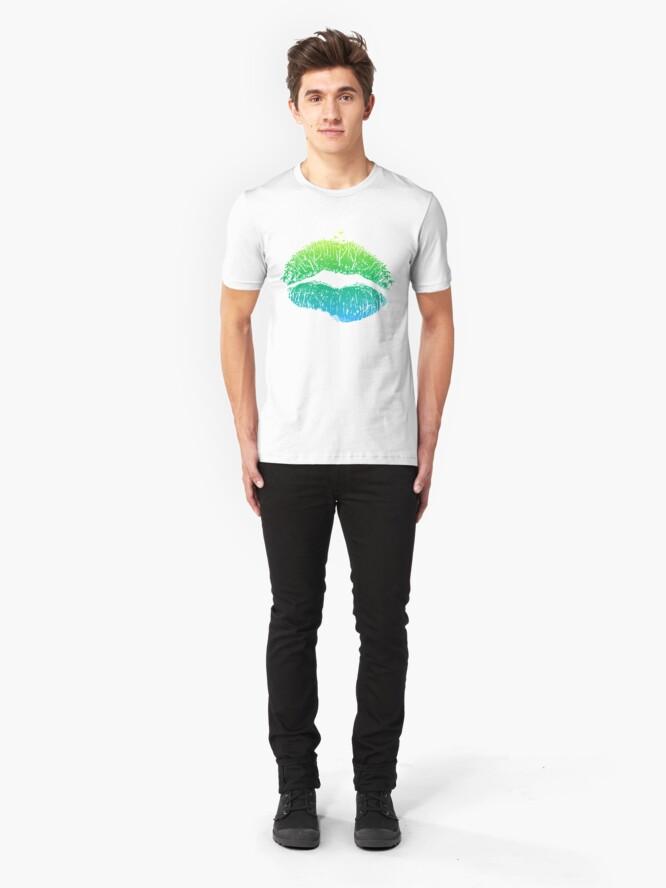 Alternate view of Kiss Island Slim Fit T-Shirt