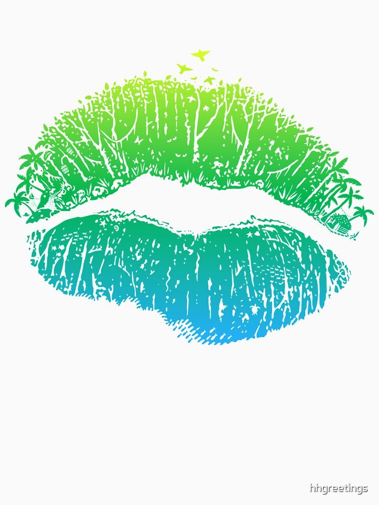 Kiss Island by hhgreetings