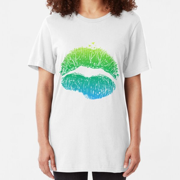 Kiss Island Slim Fit T-Shirt