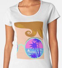 N I C E   à la  Vaporwave Premium Scoop T-Shirt