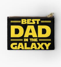 Best Dad in The Galaxy Zipper Pouch