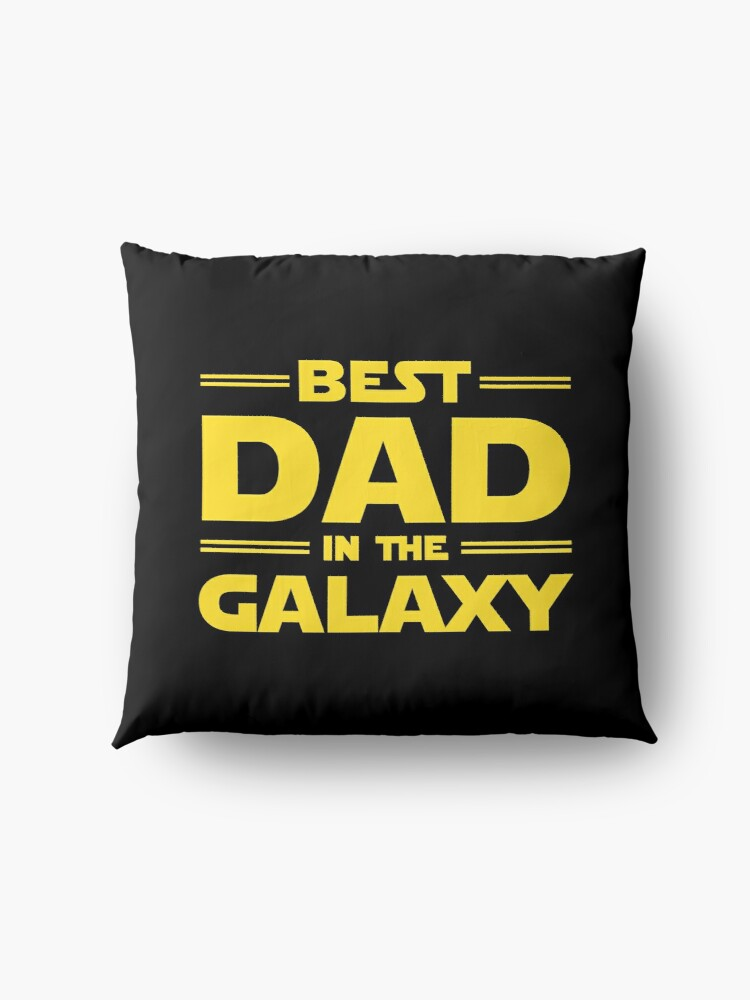Alternate view of Best Dad in The Galaxy Floor Pillow