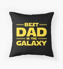 Best Dad in The Galaxy Floor Pillow