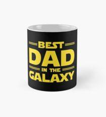 Taza clásica El mejor papá en la galaxia