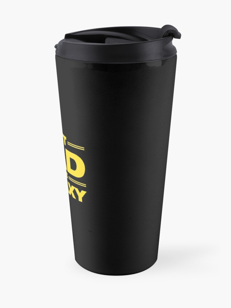 Alternate view of Best Dad in The Galaxy Travel Mug