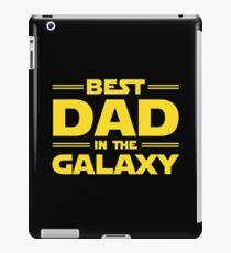 Best Dad in The Galaxy iPad Case/Skin