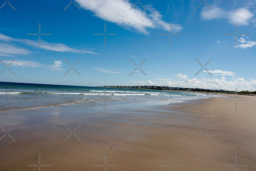 Expansive beach at Lossiemouth by SiobhanFraser
