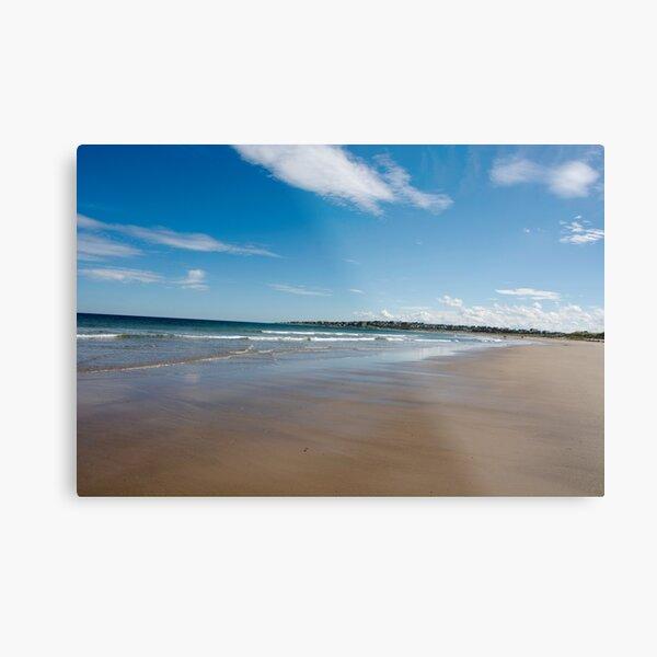 Expansive beach at Lossiemouth Metal Print