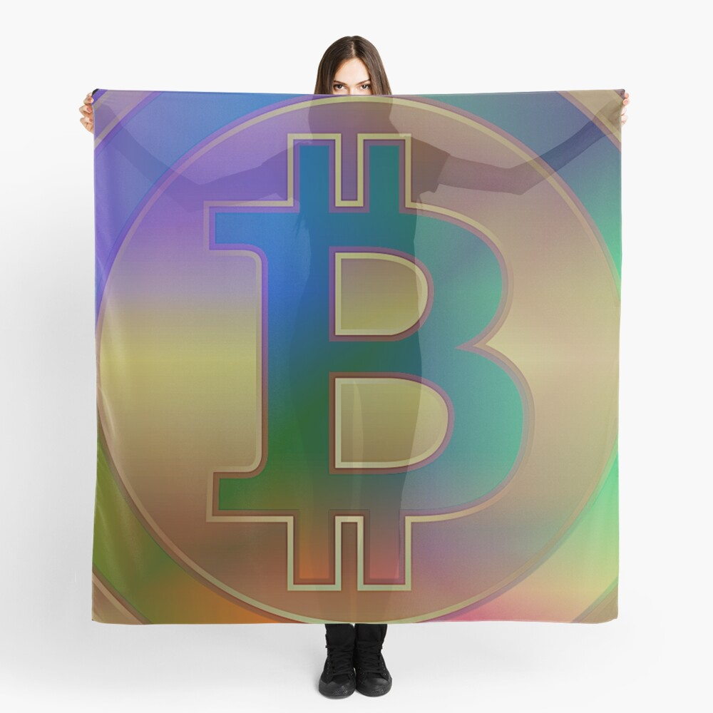 BitCoin Laser Beat N°2 by RootCat Scarf