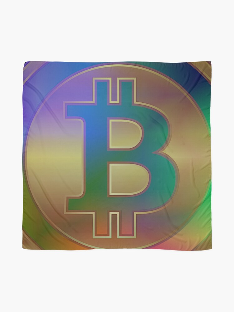 Alternate view of BitCoin Laser Beat N°2 by RootCat Scarf