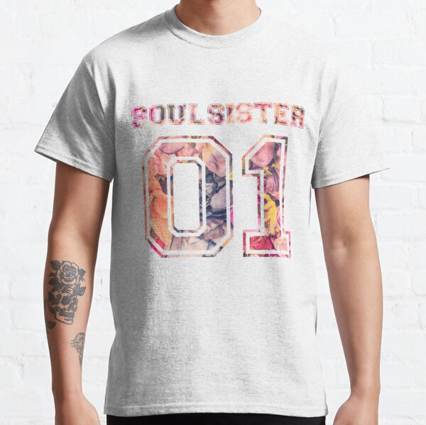 Soulsister 01 partner couple friend BFF girlfriend Classic T-Shirt