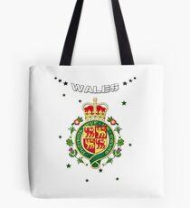 Pays de Galles - Armoiries - Flag Design Tote bag