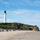 Lighthouse on Beach by SiobhanFraser