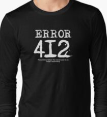 Error 412. Precondition failed.  T-Shirt