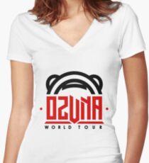 ozuna Women's Fitted V-Neck T-Shirt