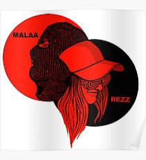 rezz x malaa pardon my french Poster
