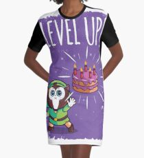 Level up Graphic T-Shirt Dress