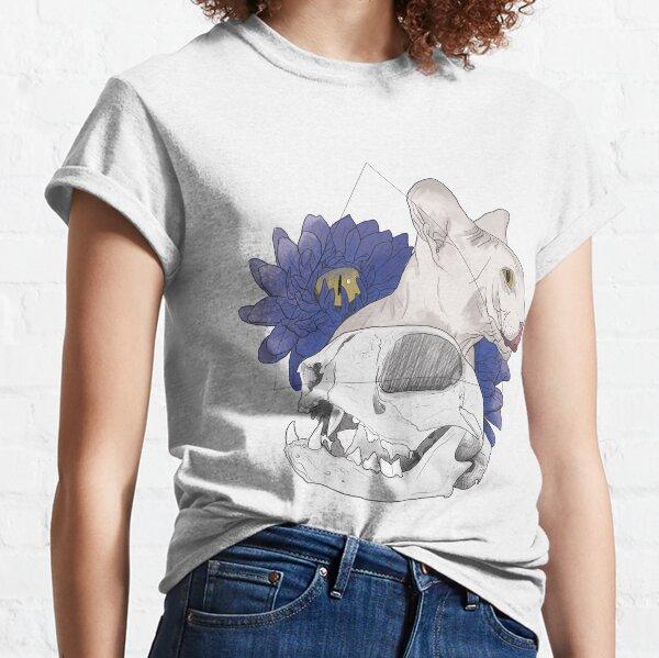 Skull - The cat T-shirt classique