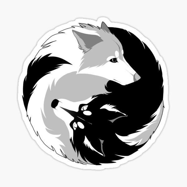 Amour Husky Sticker