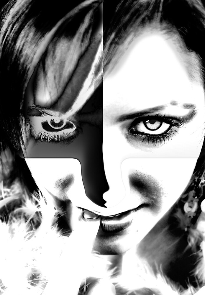Black and White eyesight by CheyenneLeslie Hurst