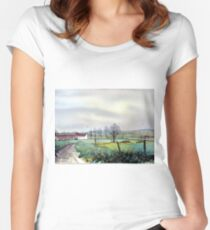 On the Road to Grassmoor Women's Fitted Scoop T-Shirt