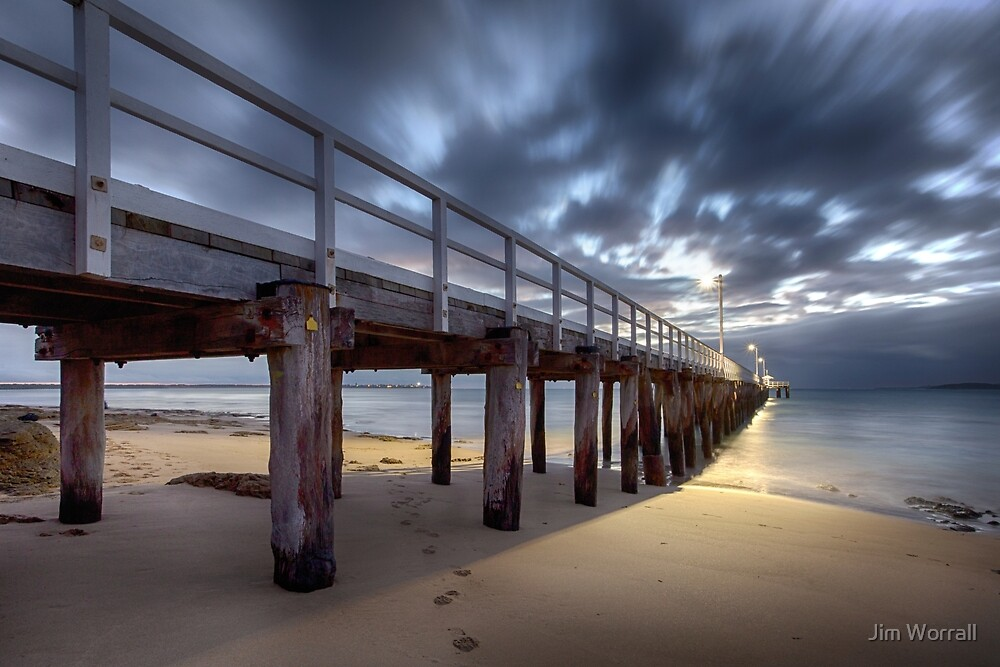 Point Lonsdale Pier by Jim Worrall