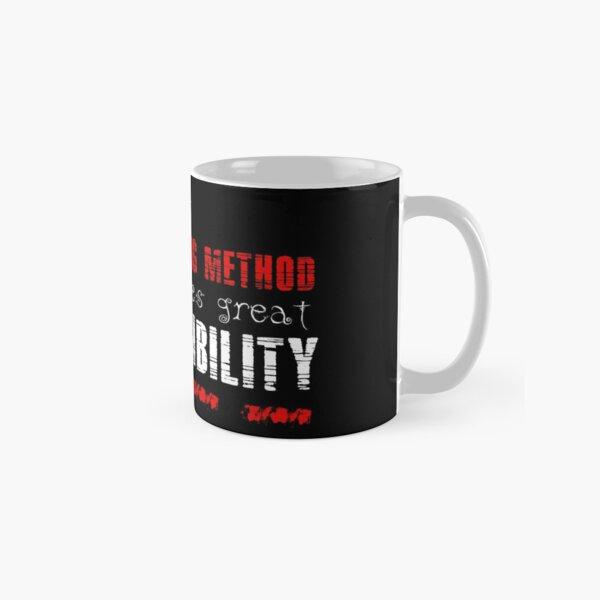 With great Keysi Fighting Method comes great responsibility Classic Mug