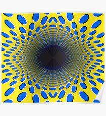 Collapsar - Optical Illusion Poster