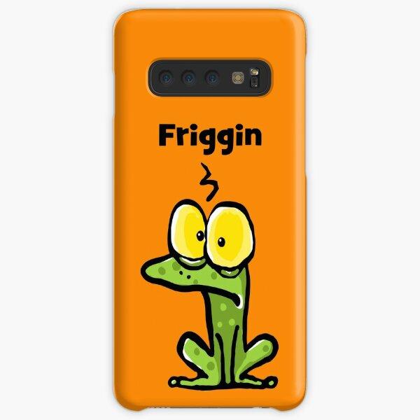 Friggin Frog Having a Bad Day Samsung Galaxy Snap Case