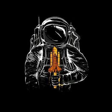 Astronaut Ice Cream by Delta12Designs