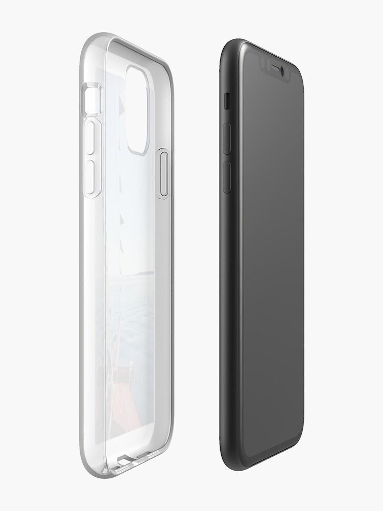 Coque iPhone «Bateau», par paneele