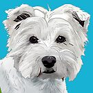 Tilly the Westie by Louisa Houchen