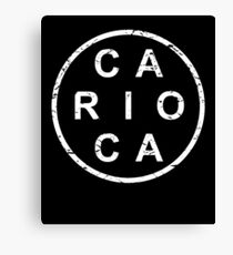 Stylish Rio de Janeiro Carioca Canvas Print
