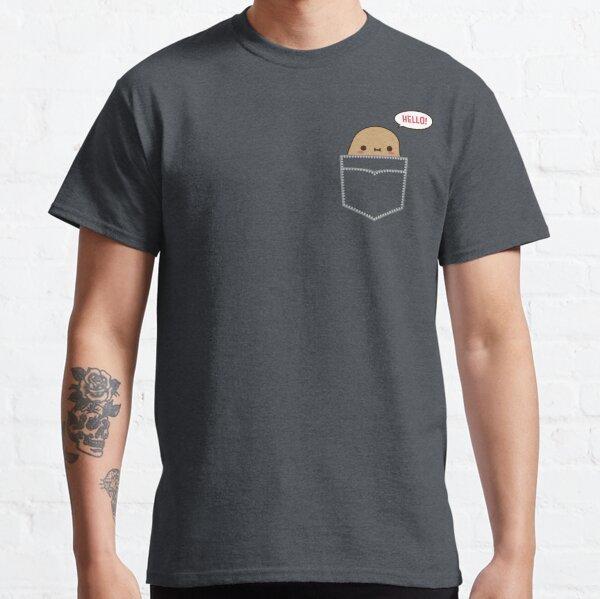 Tiny Potato in Pocket Classic T-Shirt