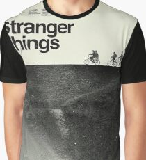 Polaroid Stranger Poster Graphic T-Shirt