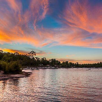 Sunset Stockton Lake by warriorprincess