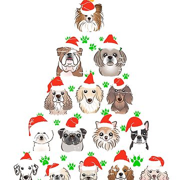 Dog Lover Person christmas tree Lab teeshirt by bestdesign4u