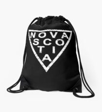 Stylish Nova Scotia Drawstring Bag